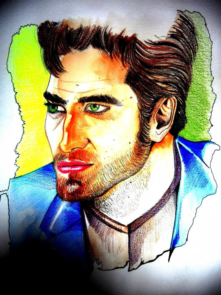 Robert Pattinson by kathy